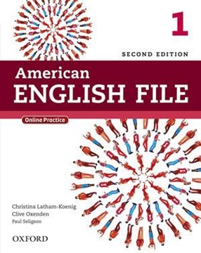 تصویر  American English File 1 (2nd) SB+WB+2CD+DVD
