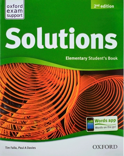 تصویر  (New Solutions Elementary (SB+WB+CD+DVD