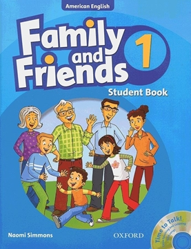 تصویر  (American Family and Friends 1 (SB+WB+CD