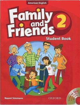 تصویر (American Family and Friends 2 (SB+WB+CD
