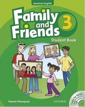 تصویر (American Family and Friends 3 (SB+WB+CD