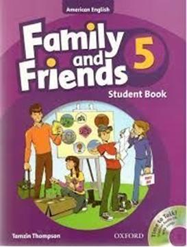 تصویر (American Family and Friends 5 (SB+WB+CD