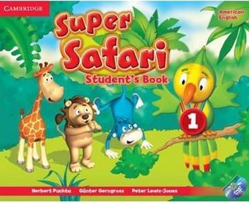 تصویر (American Super Safari 1 (SB+WB+CD+DVD