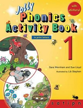 تصویر Jolly Phonics 1 Activity Book