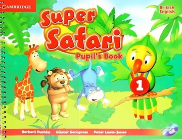 تصویر (Super Safari 1 (Pupils+Activity Book+CD+DVD