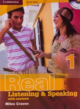 تصویر  Cambridge English Skills Real Listening and Speaking 1+CD