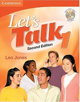 تصویر  Lets Talk 1 (2nd)+CD
