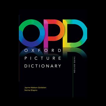 تصویر Oxford Picture Dictionary 3rd+CD