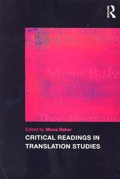 تصویر Critical Readings in Translation Studies