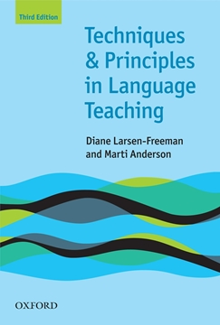 تصویر Techniques and Principles in Language Teaching 3rd Edition