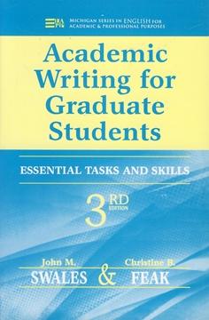 تصویر Academic Writing for Graduate Students Third Edition