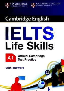 تصویر Cambridge English IELTS Life Skills  A1+CD