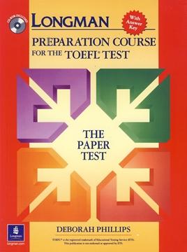 تصویر LONGMAN Preparation Course for the TOEFL Test+CD