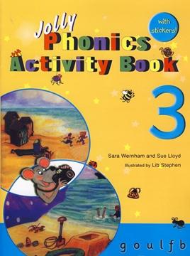 تصویر Jolly Phonics 3 Activity Book