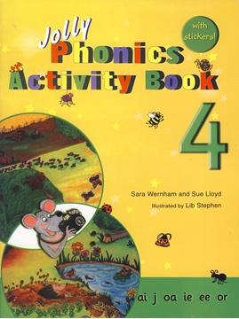 تصویر Jolly Phonics 4 Activity Book