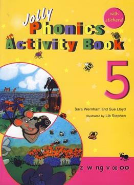تصویر Jolly Phonics 5 Activity Book