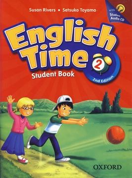 تصویر English Time 2 2nd Edition+Workbook+CD