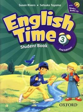 تصویر English Time 3 2nd Edition+Workbook+CD
