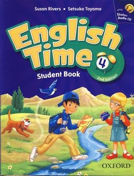 تصویر English Time 4 2nd Edition+Workbook+CD