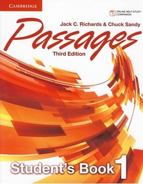 تصویر Passages 1 Third Edition+Workbook+CD