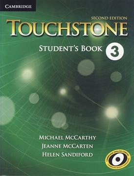 تصویر Touchstone 3 second Edition+Workbook+CD