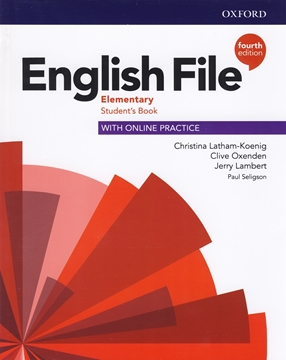 تصویر  English File Elementary fourth edition+Workbook+CD