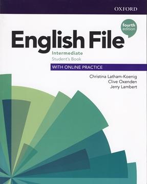 تصویر English File intermediate fourth edition+Workbook+CD