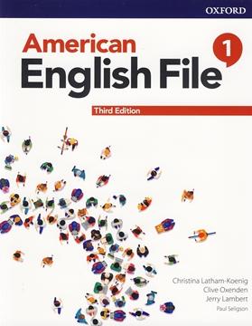 تصویر American English File 1 3rd Edition +Workbook+DVD