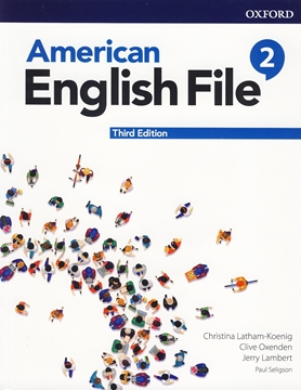 تصویر  American English File 2 3rd Edition +Workbook+DVD