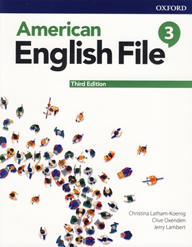 تصویر  American English File 3 3rd Edition +Workbook+DVD