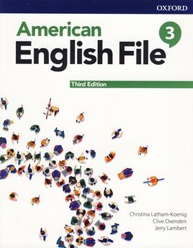 تصویر American English File 3 3rd Edition +Workbook+DVD