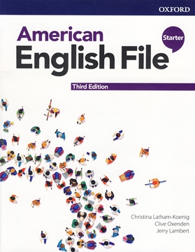 تصویر  American English File Starter 3rd Edition +Workbook+DVD