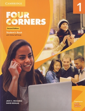 تصویر  Four Corners 1 Second Edition+Workbook+CD