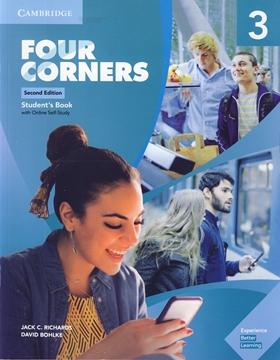 تصویر Four Corners 3 Second Edition+Workbook+CD