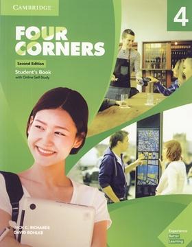 تصویر Four Corners 4 Second Edition+Workbook+CD