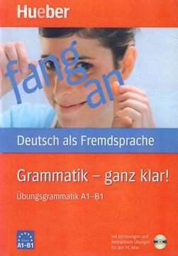 تصویر Grammatik -Ganz Klar A1-B1+CD