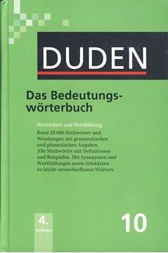 تصویر Das Bedeutungs-Worterbuch