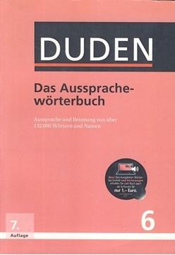 تصویر Das Aussprache-Worterbuch