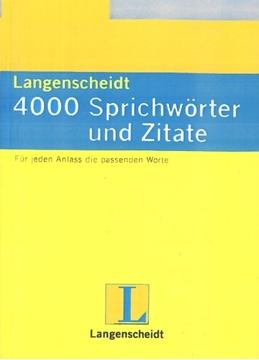 تصویر 4000Sprichworter und Zitate