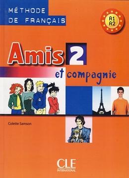 تصویر Amis 2+Cahier d activites+CD