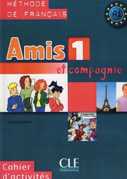 تصویر Amis 1+Cahier d'activites