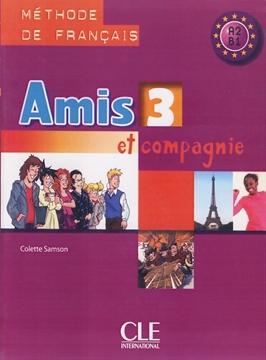 تصویر Amis 3+Cahier d'activites