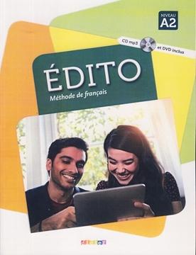 تصویر EDITO A2+Cahier d'activites+CD