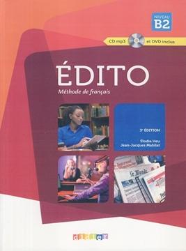 تصویر EDITO B2+Cahier d'activites+CD