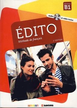 تصویر EDITO B1+Cahier d'activites+CD
