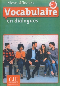 تصویر Vocabulaire en dialogues debutant +CD