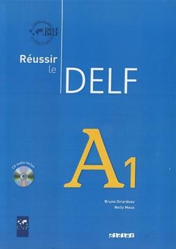 تصویر Reussir le DELF A1+CD