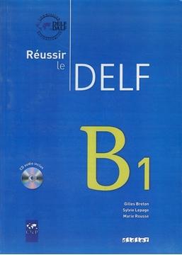 تصویر Reussir le DELF B1+CD