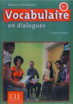 تصویر Vocabulaire en dialogues intermediaire-B1+CD