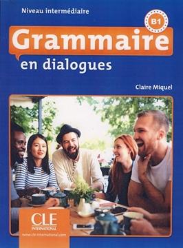 تصویر Grammaire en dialogues Niveau intermediaire-B1+CD